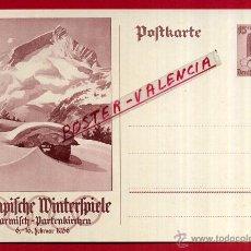 Postales: POSTAL ALEMANIA NAZI , ADOLF HITLER, II GUERRA MUNDIAL , 1936 , ORIGINAL , ZZ17. Lote 53767473