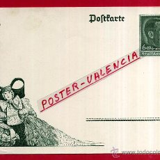 Postales: POSTAL ALEMANIA NAZI , ADOLF HITLER, II GUERRA MUNDIAL , ORIGINAL , ZZ28. Lote 53767661
