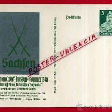 Postales: POSTAL ALEMANIA NAZI , ADOLF HITLER, II GUERRA MUNDIAL , ORIGINAL , ZZ30. Lote 53767682