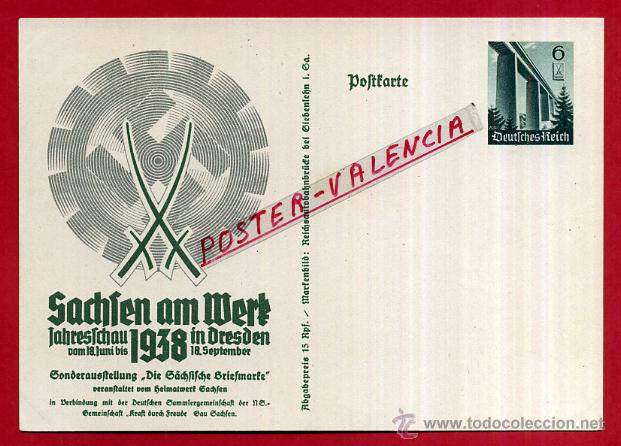 POSTAL ALEMANIA NAZI , ADOLF HITLER, II GUERRA MUNDIAL , ORIGINAL , ZZ31 (Postales - Postales Temáticas - II Guerra Mundial y División Azul)