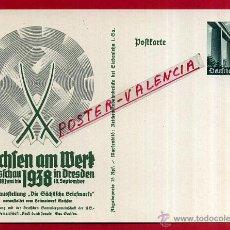 Postales: POSTAL ALEMANIA NAZI , ADOLF HITLER, II GUERRA MUNDIAL , ORIGINAL , ZZ31. Lote 53767695