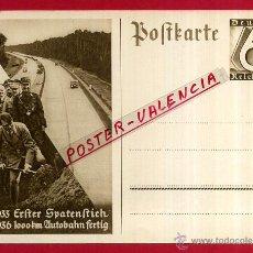 Postales: POSTAL ALEMANIA NAZI , ADOLF HITLER, II GUERRA MUNDIAL , ORIGINAL , ZZ32. Lote 53767713