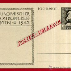 Postales: POSTAL ALEMANIA NAZI , ADOLF HITLER, II GUERRA MUNDIAL , 1942 , ORIGINAL , ZZ34. Lote 53767742
