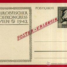 Postales: POSTAL ALEMANIA NAZI , ADOLF HITLER, II GUERRA MUNDIAL , 1942 , ORIGINAL , ZZ35. Lote 53767755