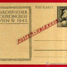 Postales: POSTAL ALEMANIA NAZI , ADOLF HITLER, II GUERRA MUNDIAL , 1942 , ORIGINAL , ZZ36. Lote 53767761