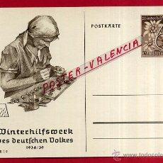 Postales: POSTAL ALEMANIA NAZI , ADOLF HITLER, II GUERRA MUNDIAL , 1938 39 , ORIGINAL , ZZ37. Lote 53767792