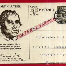 Postales: POSTAL ALEMANIA NAZI , ADOLF HITLER, II GUERRA MUNDIAL , ORIGINAL , ZZ39. Lote 53767819