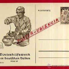 Postales: POSTAL ALEMANIA NAZI , ADOLF HITLER, II GUERRA MUNDIAL , ORIGINAL , ZZ46. Lote 53767917