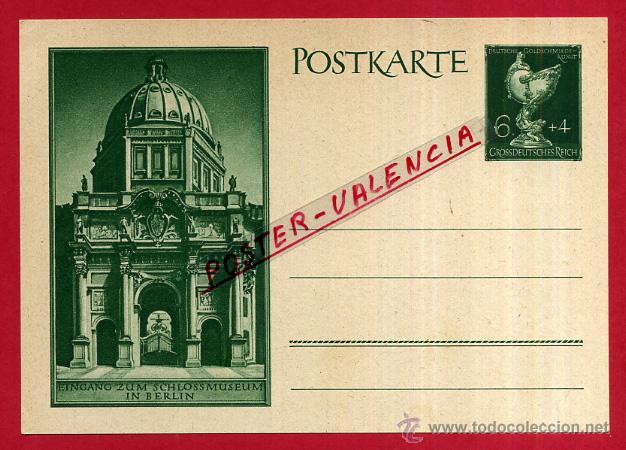 POSTAL ALEMANIA NAZI , ADOLF HITLER, II GUERRA MUNDIAL , ORIGINAL , ZZ52 (Postales - Postales Temáticas - II Guerra Mundial y División Azul)
