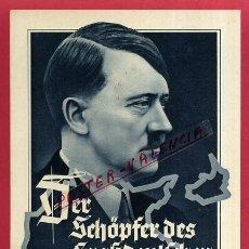 Postales: POSTAL ALEMANIA NAZI , ADOLF HITLER, II GUERRA MUNDIAL , ORIGINAL , ZZ54. Lote 53768140