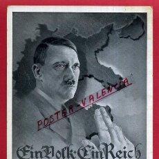 Postales: POSTAL ALEMANIA NAZI , ADOLF HITLER, II GUERRA MUNDIAL , ORIGINAL , ZZ55. Lote 53768156