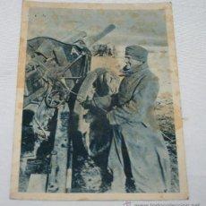Postales: POSTAL LVS DE LA II GUERRA MUNDIAL, PROPAGANDA DIVISION AZUL, EN ALEMAN Y CASTELLANO. Lote 54812315