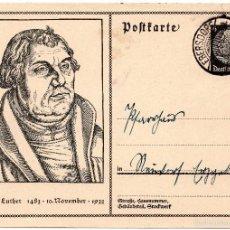 Postales: TARJETA POSTAL ALEMANA, FECHADA EN 1935 - III REICH. Lote 55335458