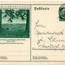 Postales: TARJETA POSTAL ALEMANA, FECHADA EN 1934 - III REICH. Lote 55335486