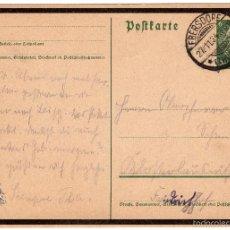 Postales: TARJETA POSTAL ALEMANA, FECHADA EN 1934 - III REICH. Lote 55335504