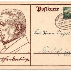Postales: TARJETA POSTAL ALEMANA, FECHADA EN 1933 - III REICH. Lote 55335515