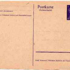 Postales: TARJETA POSTAL ALEMANA - III REICH. Lote 55335544