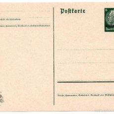 Postales: TARJETA POSTAL ALEMANA - III REICH. Lote 55335554