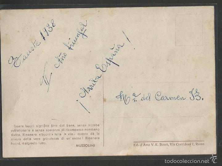 Postales: TARJETA POSTAL ANTIGUA MUSSOLINI - (42.349) - Foto 2 - 55844858