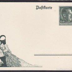 Postales: POSTAL PROPAGANDA GOBIERNO ALEMAN NACIONAL SOCIALISTA . Lote 56297282