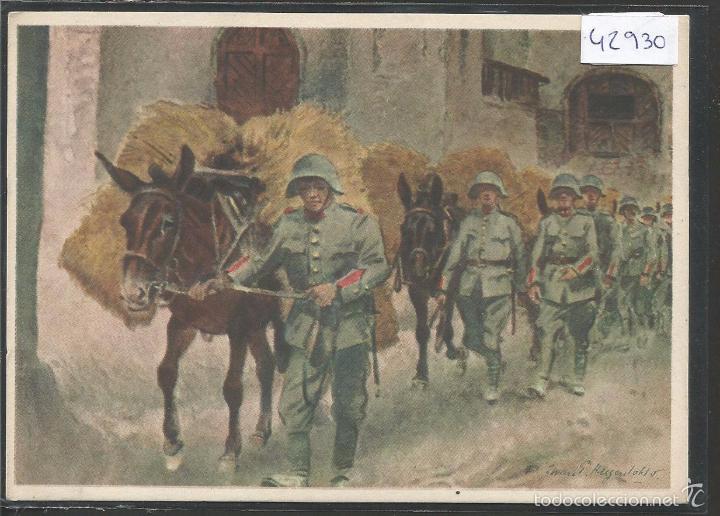 POSTAL II GUERRA MUNDIAL-SEGUNDA GUERRA MUNDIAL - VER REVERSO - (42930) (Postales - Postales Temáticas - II Guerra Mundial y División Azul)