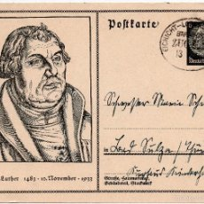 Postales: TARJETA POSTAL ALEMANA, FECHADA EN 1935 - III REICH. Lote 56805932
