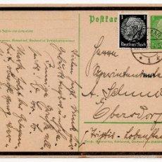 Postales: TARJETA POSTAL ALEMANA, FECHADA EN 1935 - III REICH. Lote 56806048