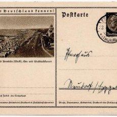 Postales: TARJETA POSTAL ALEMANA, FECHADA EN 1935 - III REICH. Lote 56806066