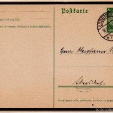 Postales: TARJETA POSTAL ALEMANA, FECHADA EN 1934 - III REICH. Lote 56806105