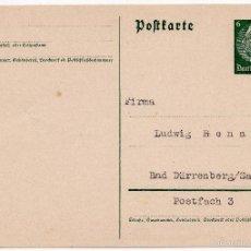 Postales: TARJETA POSTAL ALEMANA - III REICH. Lote 56806156