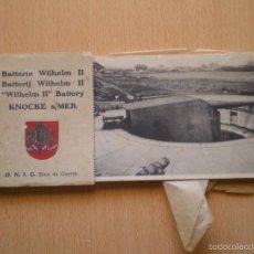 Postales: POSTALES, ARMAMENTO, MILITAR, II GUERRA MUNDIAL, EDITADAS EN BRUXELAS, BELGICA, CONJUNTO DE 10. Lote 57126572