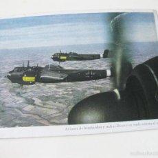 Postales: POSTAL DE AVIONES DE BOMBARDEO Y STUKAS DORNIER - LUFTWAFFE. Lote 57363744