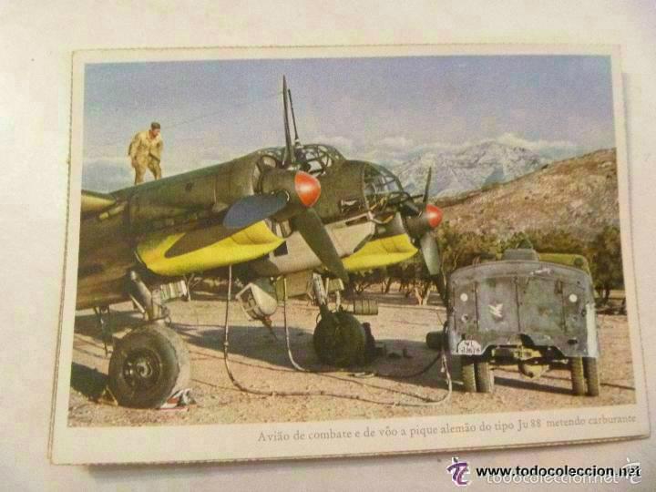 POSTAL DEL EJERCITO ALEMAN : AVIACION , AVION JU 88 . PROPAGANDA NAZI PARA PORTUGAL (Postales - Postales Temáticas - II Guerra Mundial y División Azul)