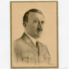 Postales: POSTAL ORIGINAL DE ADOLF HITLER DER FÜRER SIN CIRCULAR. Lote 57580968