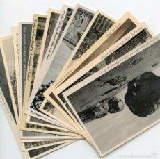 Postales: 11 POSTALES ALEMANAS DE AUERBACH RECUERDOS DE DIVISIONARIO TODAS DIFERENTES. Lote 57581246