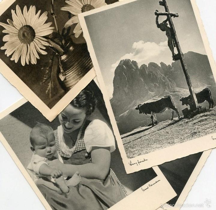 4 POSTALES ALEMANAS RECUERDOS DE DIVISIONARIO (Postales - Postales Temáticas - II Guerra Mundial y División Azul)