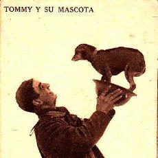 Postales: POSTAL SOLDADO INGLES TOMMY Y SU MASCOTA - PERRO - -2ª GUERRA MUNDIAL. Lote 57972775