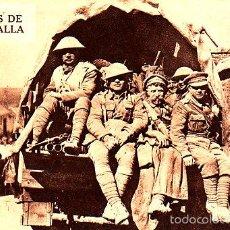 Postales: POSTAL DESPUES DE LA BATALLA - SOLDADOS INGLESES Y ALIADOS -2ª GUERRA MUNDIAL. Lote 57972987