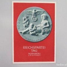 Postales: POSTAL ALEMANIA III REICH. 2ª GUERRA MUNDIAL. REICHSPARTEITAG NÜRNBERG 1939. Lote 68638297