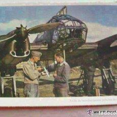 Postales: POSTAL DEL EJERCITO ALEMAN : AVIACION , AVION RECONOCIMIENTO FW 189. PROPAGANDA NAZI PARA PORTUGAL.. Lote 68708641