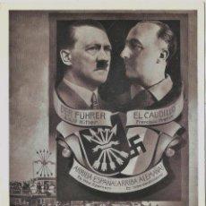 Postales: FRANCO HITLER LEGION CONDOR TERCER REICH POSTAL HISTÓRICA 1939. Lote 69766965