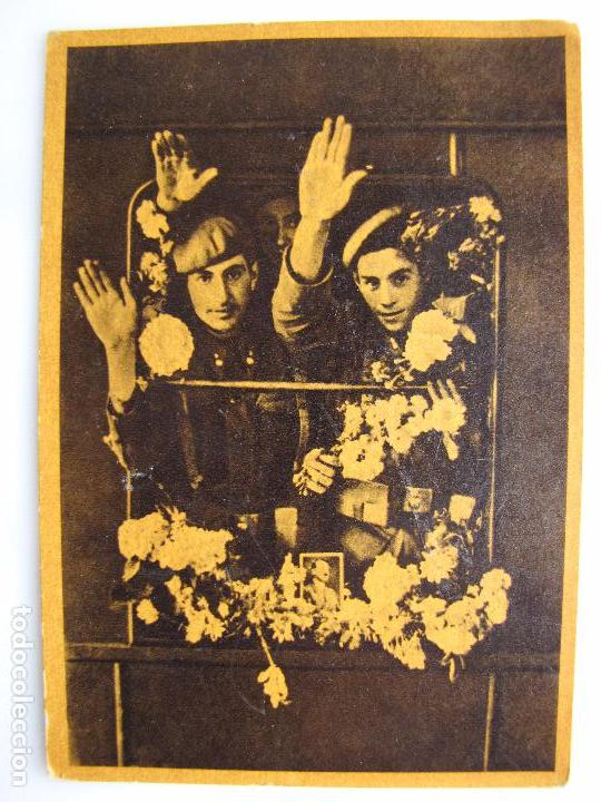 DIVISION AZUL. CRUZADA EUROPEA CONTRA EL BOLCHEVISMO (Postales - Postales Temáticas - II Guerra Mundial y División Azul)
