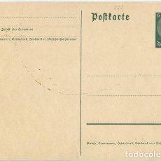 Postales: ALEMANIA III REICH. POSTAL. SIN CIRCULAR.. Lote 73791211