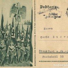 Postales: ALEMANIA III REICH. POSTAL. REICHSPARTEITAG.. Lote 73791955