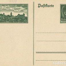 Postales: ALEMANIA III REICH. POSTAL. SIN CIRCULAR.. Lote 73792183