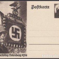 Postales: POSTAL ALEMANIA NAZI 1934 , NUREMBERG, PERFECTO ESTADO, SIN UTILIZAR. Lote 74302095