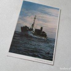 Postales: POSTAL- LANCHA ALEMANA DE VANGUARDIA. Lote 78622205