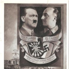 Postales: FRANCO HITLER LEGION CONDOR TERCER REICH POSTAL HISTÓRICA 1939 . Lote 119890227