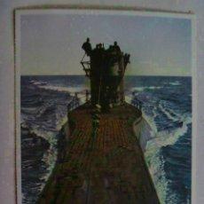 Postales: POSTAL DEL EJERCITO ALEMAN : SUBMARINO . PROPAGANDA NAZI PARA PORTUGAL.. Lote 86416104