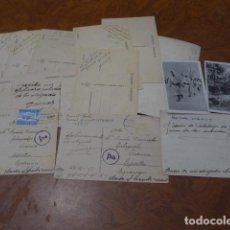 Postales: * LOTE 15 POSTAL DE DIVISION AZUL, DE UN MISMO CABO DIVISIONARIO. POSTALES ORIGINALES. ZX. Lote 86676788